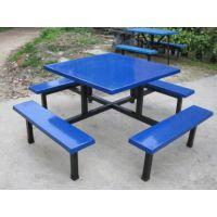 定做厂家中山8人位方桌食堂餐桌椅供应商