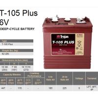 美国邱健(Trojan)蓄电池T-1056V225AH尺寸/型号/报价