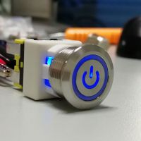 PS19金属按钮开关16A大电流厂家专利产品防水IP67,UL ,VDE认证