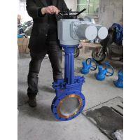 PZ973X 铸钢加长浆液阀 PZ973X-10C 电动加长杆浆液阀 永嘉精拓阀门