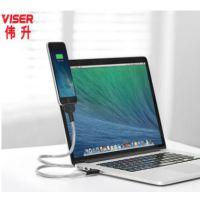VISERiPhone6数据线苹果5五六七7P单头手机6splus充电线
