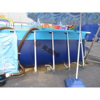 厂家热销 户外大型支架水池 儿童支架游泳池 动漫水世界水上乐园