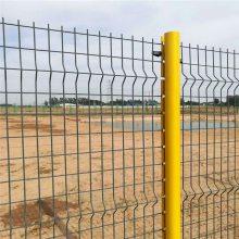 圈地围栏网厂家 体育场围网施工 浸塑护栏网价格