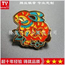生肖纪念品徽章定制-北京高档胸牌胸针纪念襟章定制厂家