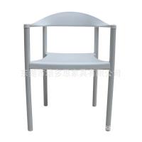 带扶手会议椅简约休闲椅家用椅咖啡厅椅塑料培训椅招待会议椅靠背阅览椅