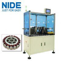 全自动双工位轮毂电机定子槽楔插入机,定子绝缘槽楔成型插片机