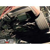 广州保时捷981改装SVE中尾段中置双出阀门排气