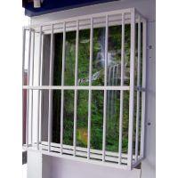 通辽锌合金百叶窗防护栏,Q235HC品质卓越的锌钢防盗窗,漂亮大气百叶空调围栏