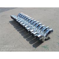 江大厂家直销镀锌螺旋风管,45度弯头、顺水三通、等风量调节阀