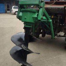 泸定县大棚栽柱专用钻坑机 启航牌太阳能电线杆打眼机 果园苗圃挖坑机价格