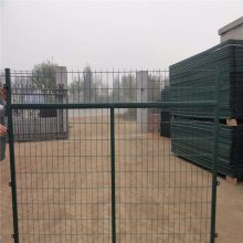 框架护栏网规格 护栏网cad 防护网生产