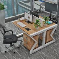 简约员工电脑桌 多人隔断公司职员组合屏风定制批发