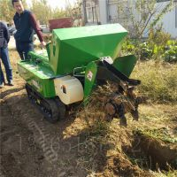 果园深松开沟施肥机 富兴除草回填机 多功能28马力履带微耕机