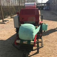 编制网水稻秸秆打捆机牧草圆捆打捆机