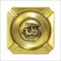 烟灰缸不锈钢 定制logo酒店ktv网吧创意不锈钢烟灰缸