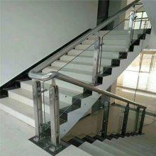 新云 长期供应 室外不锈钢楼梯钢管扶手 工程组装楼梯栏杆