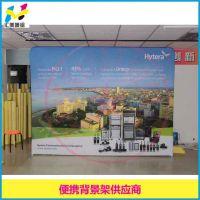 广东深圳地区展示架 防水防晒可移动可重复用快幕秀
