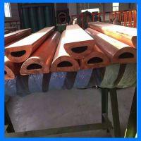 现货供应TP2紫铜管 无氧铜管 空调软紫铜管 定做非标异型铜管材
