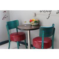海德利 简约现代 实木餐桌餐厅奶茶店咖啡厅酒店椅子