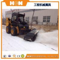 HCN屈恩机具扫雪车 沈阳工程车辆改装扫雪车 扫雪刷厂家直销