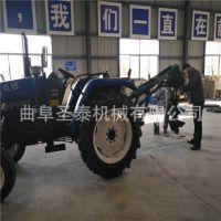 悬挂式挖坑机 厂家直销大型拖拉机带动挖坑机 螺旋挖坑机价格