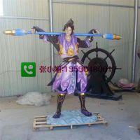 玻璃钢王者荣耀人物王昭君 虞姬仿真王者游戏公司商城雕塑摆件