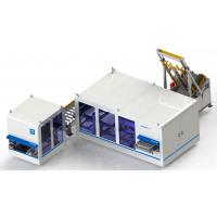 热熔胶式地板自动包装机