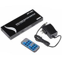 迈拓维矩四进二出HDMI矩阵高清视频转换器HDMI口4进2出遥控切换器