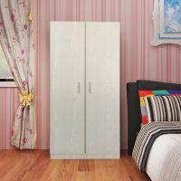 简易现代衣柜2门简约组合厂家定制储藏储物柜组装板式衣橱柜子