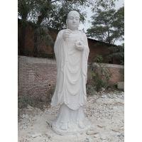 石雕观音佛像汉白玉大型户外三面观音地藏王释迦摩尼寺庙祭祀摆件