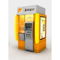 供应宇源智能2018新款银行防护罩形象设计ATM机外罩机壳产品定制生产
