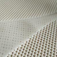 厂家直销涤纶3d网眼布 特殊三明治 透气靠垫按摩网布