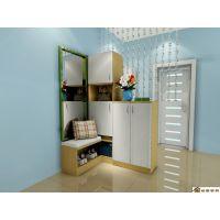 家里定做鞋柜需要知道的合肥板式鞋柜款式衣柜