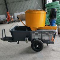 机械工程德式砂浆喷涂机性能