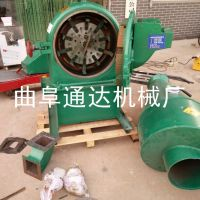 自吸电动齿盘式饲料粉碎机 饲料加工成套设备 通达牌 玉米粉碎机械 热销