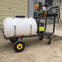 灵丘县葡萄园高射程自走式打药机 启航高压果园喷药机 农田喷雾器哪里有卖