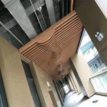 舟山市生产防火弧形铝方通吊顶及辅材配件厂家 欧百建材