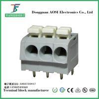 澳斯804接线端子5.0MM间距可过大功率免工具连接器