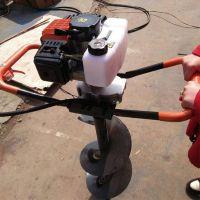 电线杆刨坑钻孔机 单人操作多功能挖坑机 栽杆打窝机价格