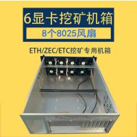 4U挖矿机箱以太坊Eth/零币ZEC矿架/4显卡多GPU定制工控录播atx服务器!