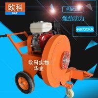 欧科小型便携式路面吹风机汽油四冲程吹风机