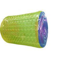 水上滚筒,一个100平方充气水池配几个滚筒呢?