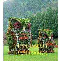 四川成都雕塑厂制作仿真绿地节庆造型,花海景观雕塑造型