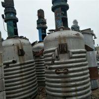 二手电加热不锈钢反应釜2吨3吨5吨10吨价格批发