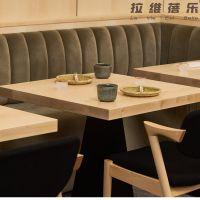 西安咖啡厅小方桌星巴克实木小方桌设计定做