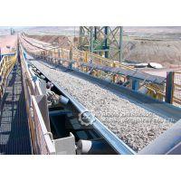 郑矿机器提供加工定制质优价廉、输送量大的槽形皮带输送机设备 滚筒皮带输送机