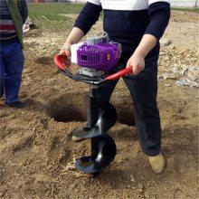 园林植树挖坑机 手持式汽油挖坑机 果树种植打坑机