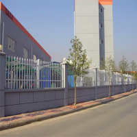变压器专用护栏*道路绿化围栏*pvc绿化围栏现货