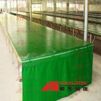 广州篷布厂批发服装印花台皮帆布 耐磨防酸碱pvc篷布 印花台皮价格