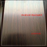 仿铜黑拉丝不锈钢镀铜板 仿古做旧不锈钢镀铜板 免费拿样
